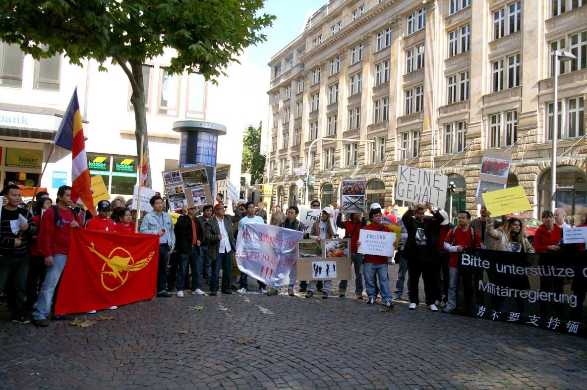Demonstration in Frankfurt 06.10.2007